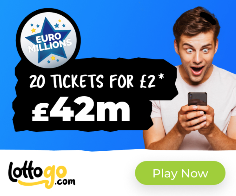 Screenshot 2020 05 05 at 12.43.49 Lottery Website LottoGo.com Offering 20 EuroMillions Tickets For £2 To New Users