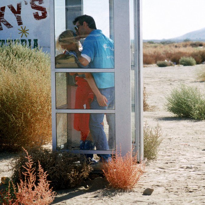 true romance 1993 006 patricia arquette christian slater kiss inside telephone booth e1600264224383 20 Things You Didn't Know About The Classic Film True Romance