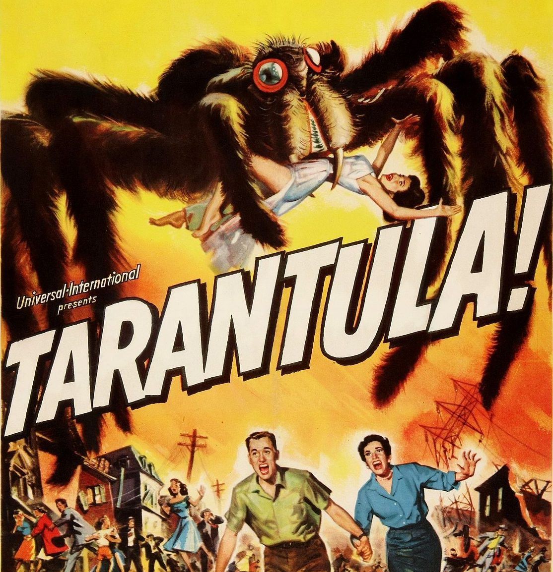 Tarantula 1955 e1598625274630 20 Things You Probably Didn't Know About Clint Eastwood's 1982 Film Firefox