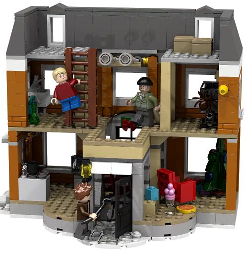 image Lego Announces New Home Alone House Set