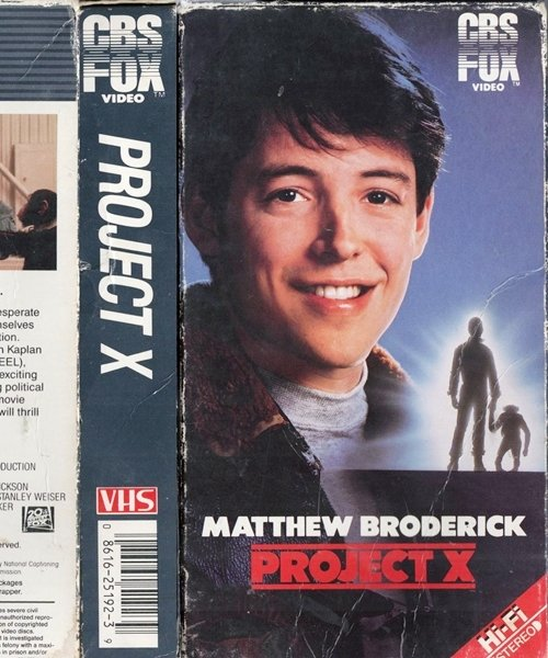2 18 8 Things You Probably Didn't Know About The 1987 Sci-Fi Film Project X