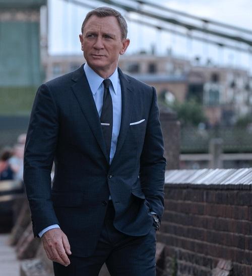 Daniel Craig 2020 James Bond No Time to Die Tom Ford 002 Daniel Craig Voted Best James Bond In Twitter Poll