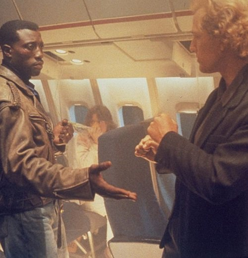 Passenger 57 Wesley Snipes Bruce Payne 10 Things You Probably Didn't Know About Wesley Snipes Action Hit Passenger 57