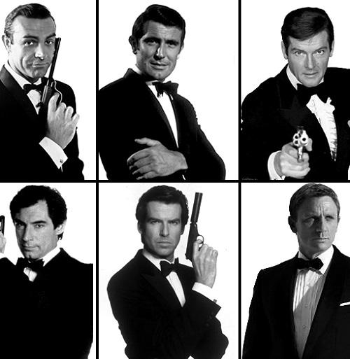 bond 50 collage Daniel Craig Voted Best James Bond In Twitter Poll
