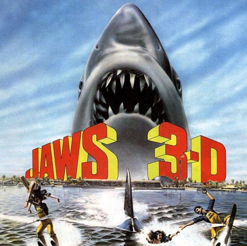 Jaws 3D 1983 poster e1598971748418 20 High-Flying Facts About 1983 Action Thriller Blue Thunder