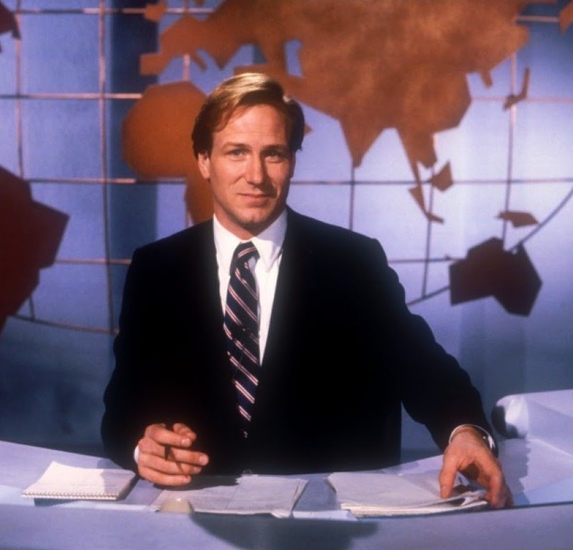 william hurt in broadcast news 20th century fox e1616689314195 10 Things You Probably Didn't Know About The 1987 Film Broadcast News