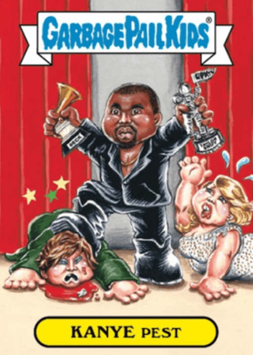 1 14 Celebrity Garbage Pail Kids Cards That Are Guaranteed To Make You Smile