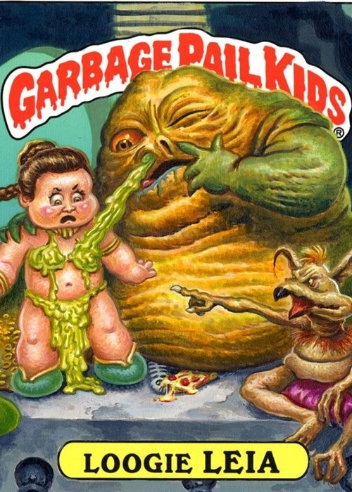 10 29 14 Celebrity Garbage Pail Kids Cards That Are Guaranteed To Make You Smile