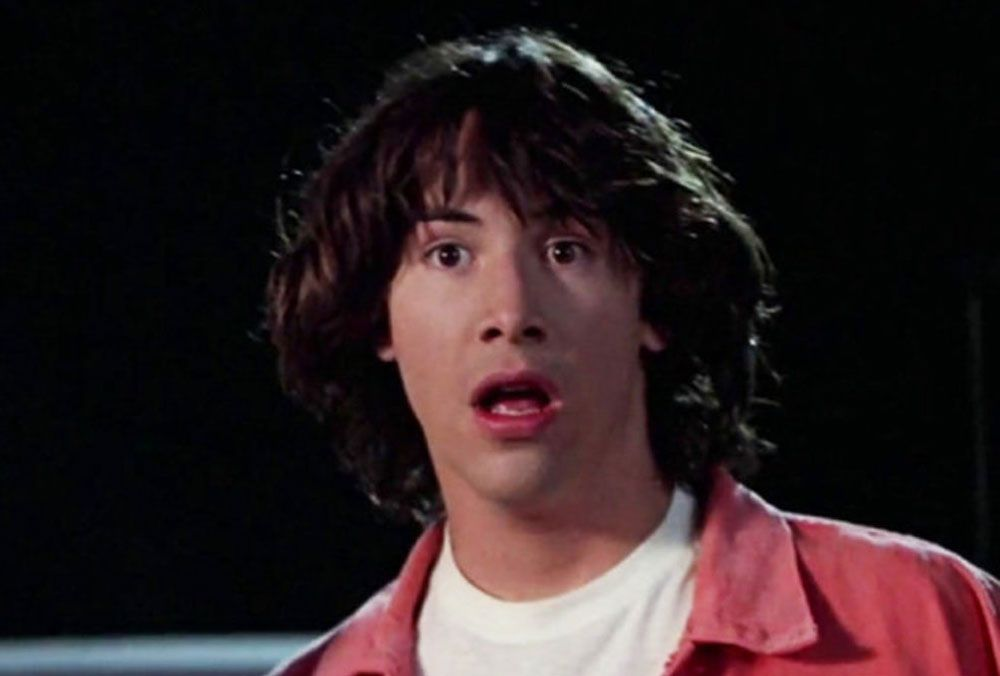 1495207668 keanu reeves bill bill and ted 20 Celebrities Who Started Out In Commercials