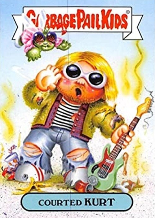 4 31 14 Celebrity Garbage Pail Kids Cards That Are Guaranteed To Make You Smile