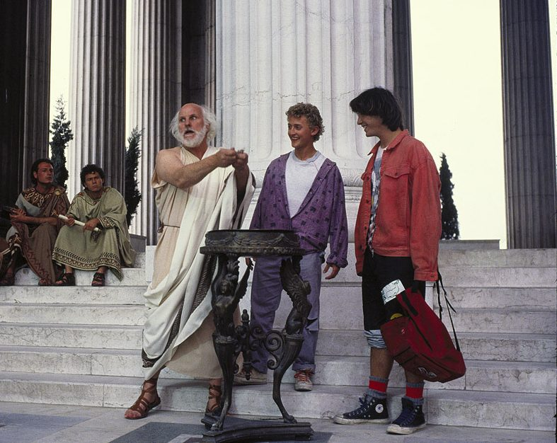 45 2 e1599826280653 25 Totally Non-Heinous Facts About Bill & Ted's Excellent Adventure!