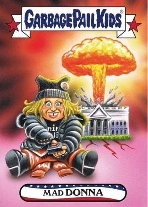 5 28 14 Celebrity Garbage Pail Kids Cards That Are Guaranteed To Make You Smile