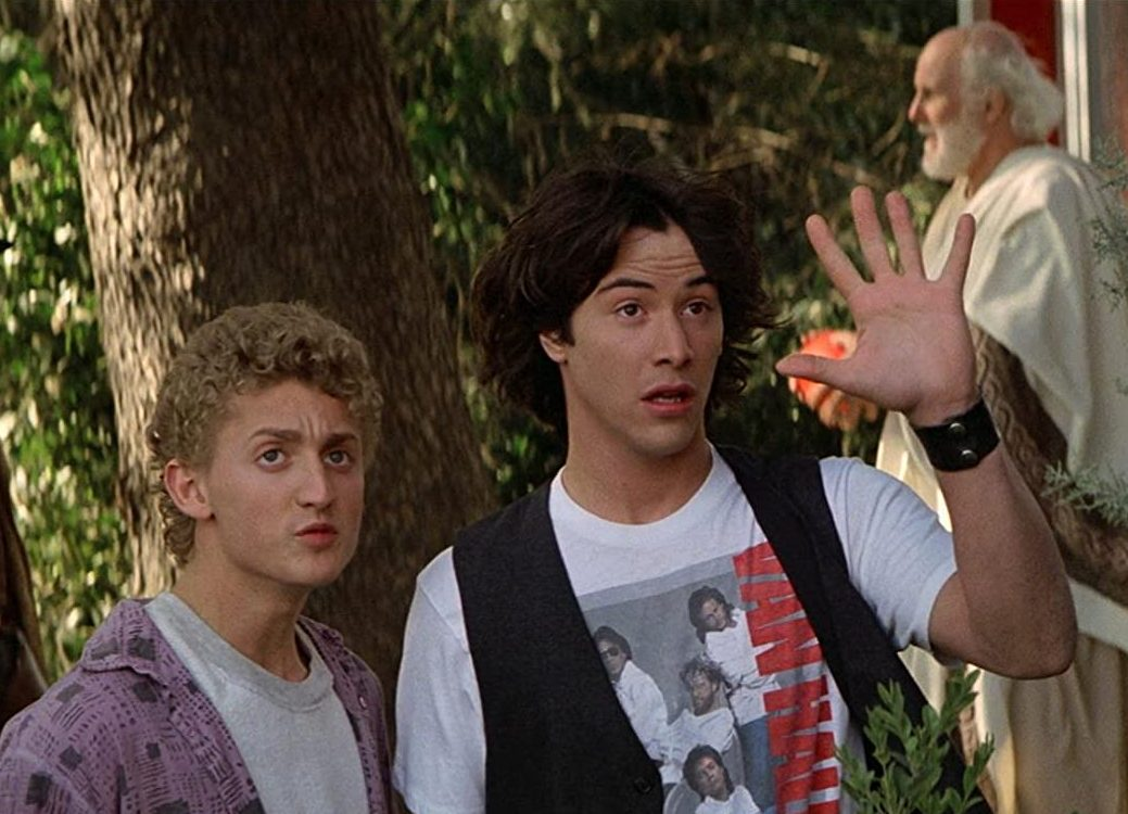 52 2 e1599826982667 25 Totally Non-Heinous Facts About Bill & Ted's Excellent Adventure!