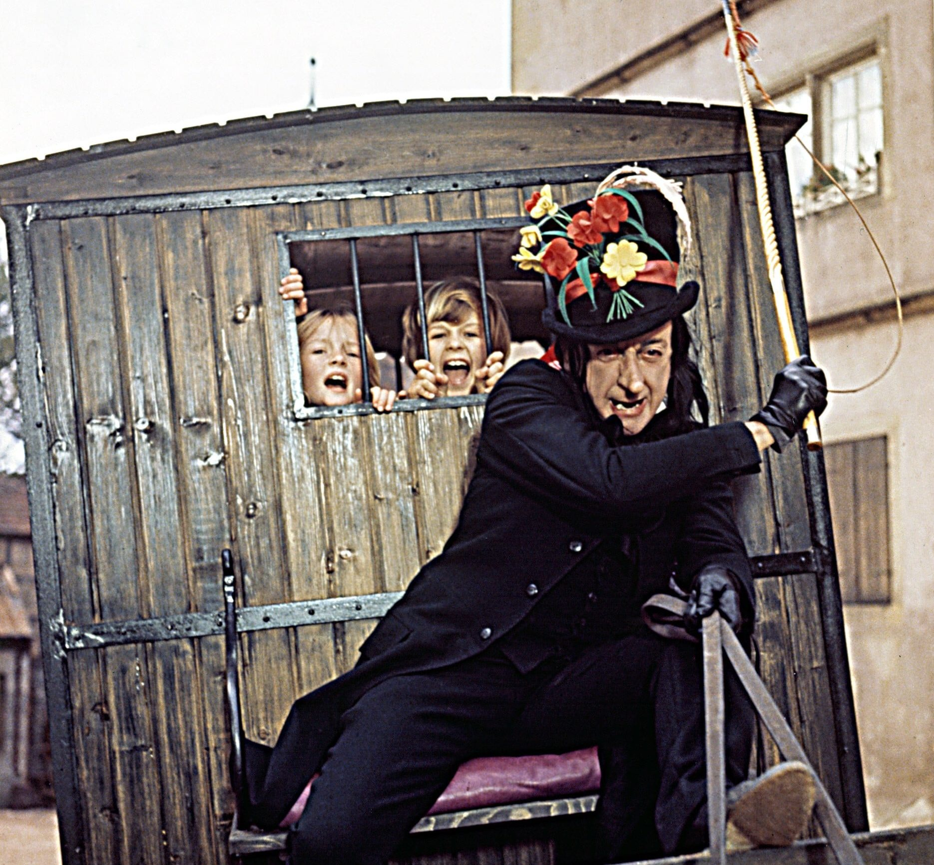 Child Catcher From Chitty Chitty Bang Bang e1605533880580 20 Characters That Scared The Life Out Of Us As Children