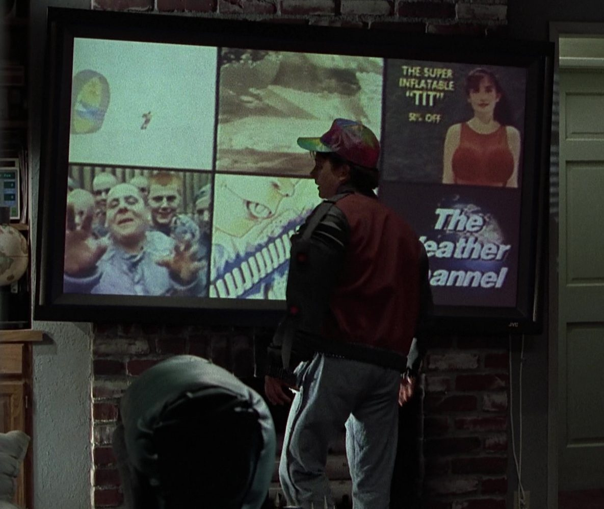 JVC TV Used by Michael J. Fox in Back to the Future Part 2 e1617110384339 20 Fascinating Futuristic Facts About Back to the Future Part II