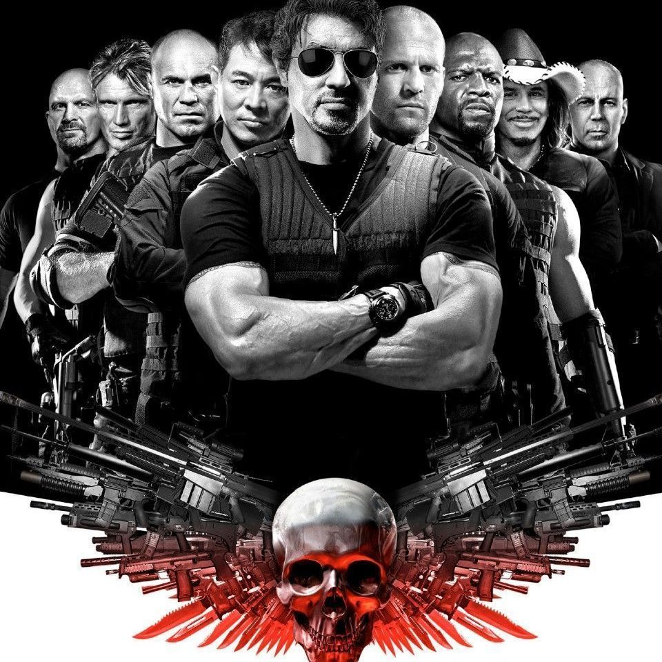 Jason Statham in The Expendables poster the expendables 15201669 971 1500 e1601908754751 20 Things You Probably Never Knew About Kurt Russell