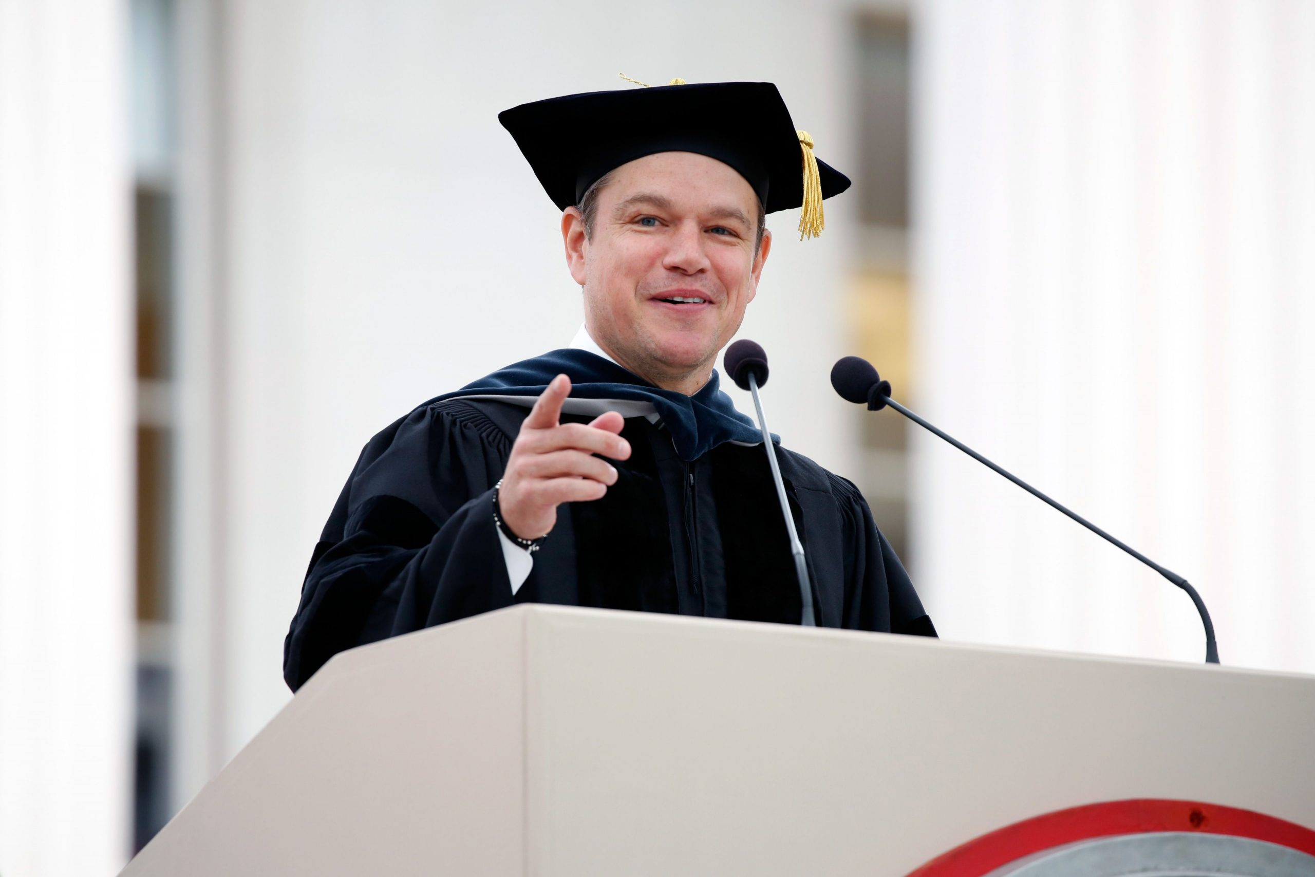 MIT 03 Commencement Reuter Press 1 scaled 12 Things You Might Not Have Realised About Good Will Hunting