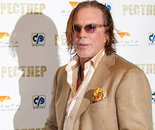 Mickey Rourke in Moscow e1625059593369 20 Things You Never Knew About Mickey Rourke