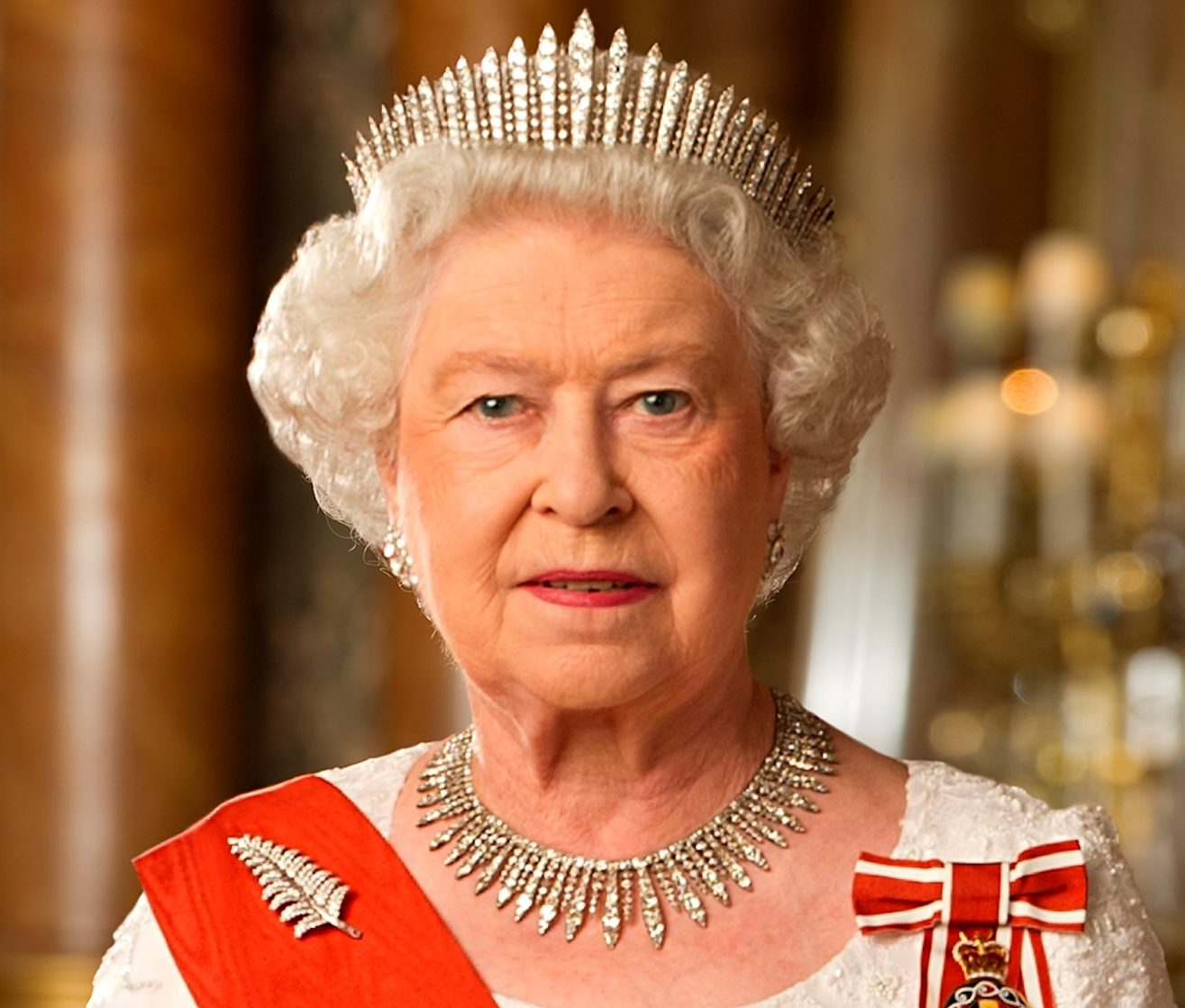Queen Elizabeth II of New Zealand cropped e1616575261470 20 Things You Might Not Have Realised About The Naked Gun
