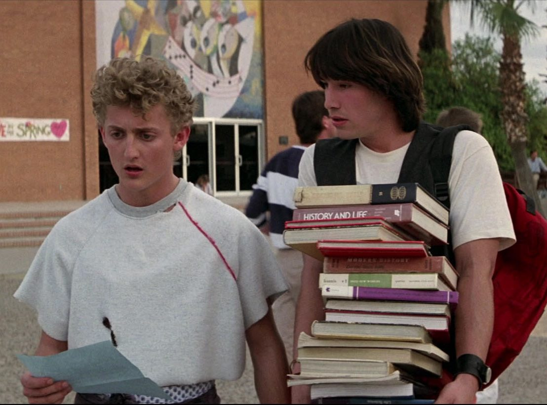 SbehCWs 1 e1616577532257 25 Totally Non-Heinous Facts About Bill & Ted's Excellent Adventure!