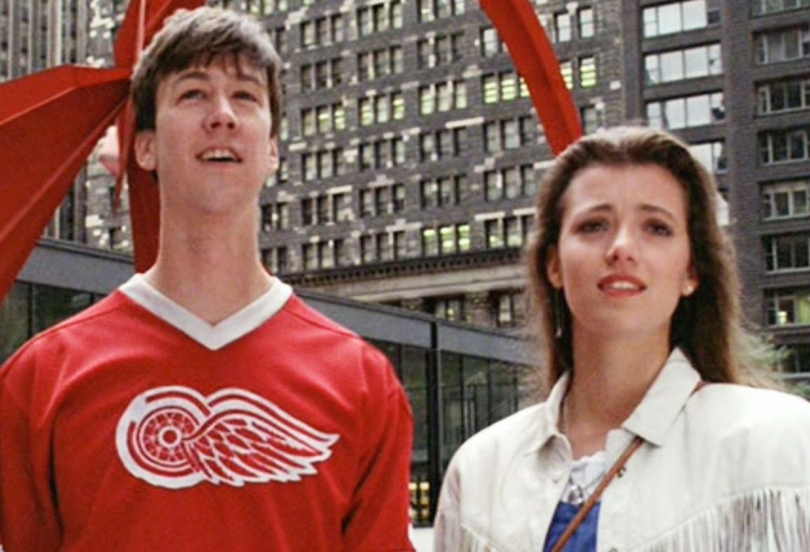 Sloane and Cameron in Ferris Buellers Day Off e1617029706650 20 Things You Probably Didn't Know About Ferris Bueller's Day Off