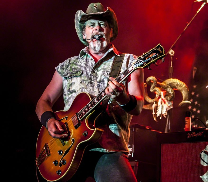 Ted Nugent 2013 e1625038920328 20 Things You Probably Never Knew About Kurt Russell