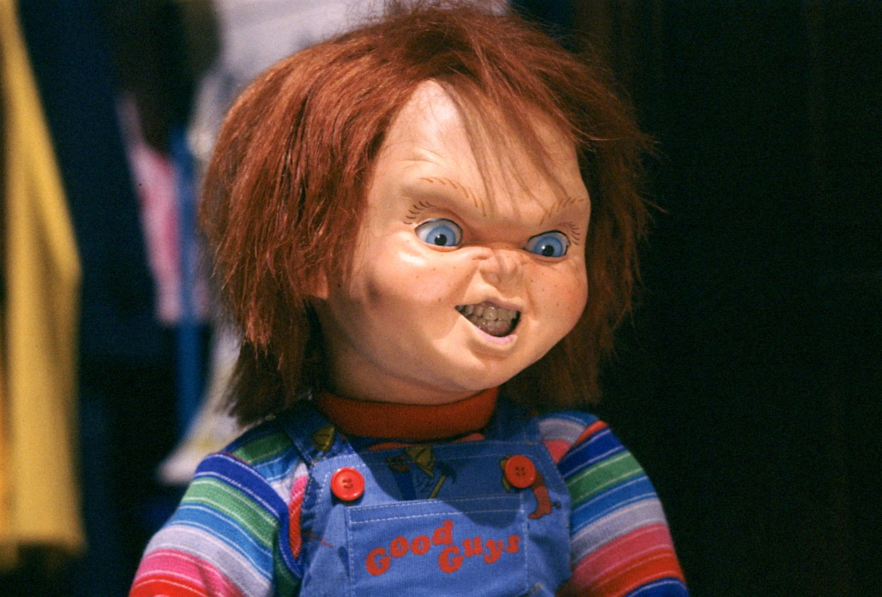 chucky brad dourif 20 Characters That Scared The Life Out Of Us As Children