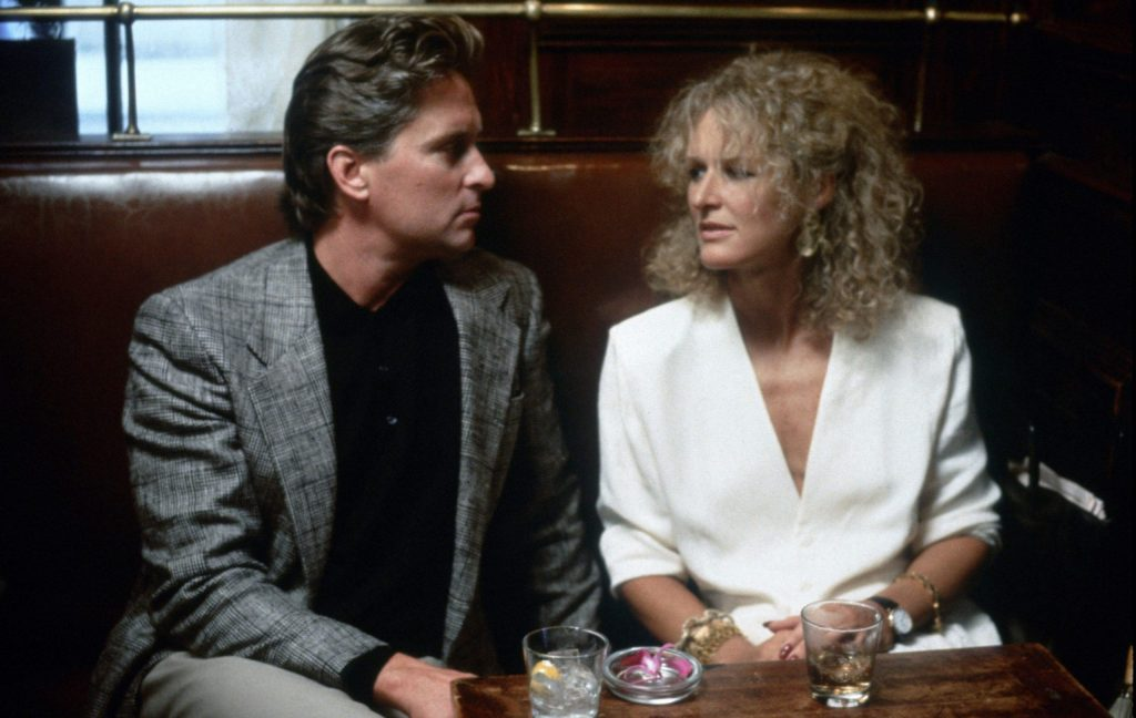 fatal attraction glenn close michael douglas table scaled 1 10 Things You Probably Didn't Know About Glenn Close