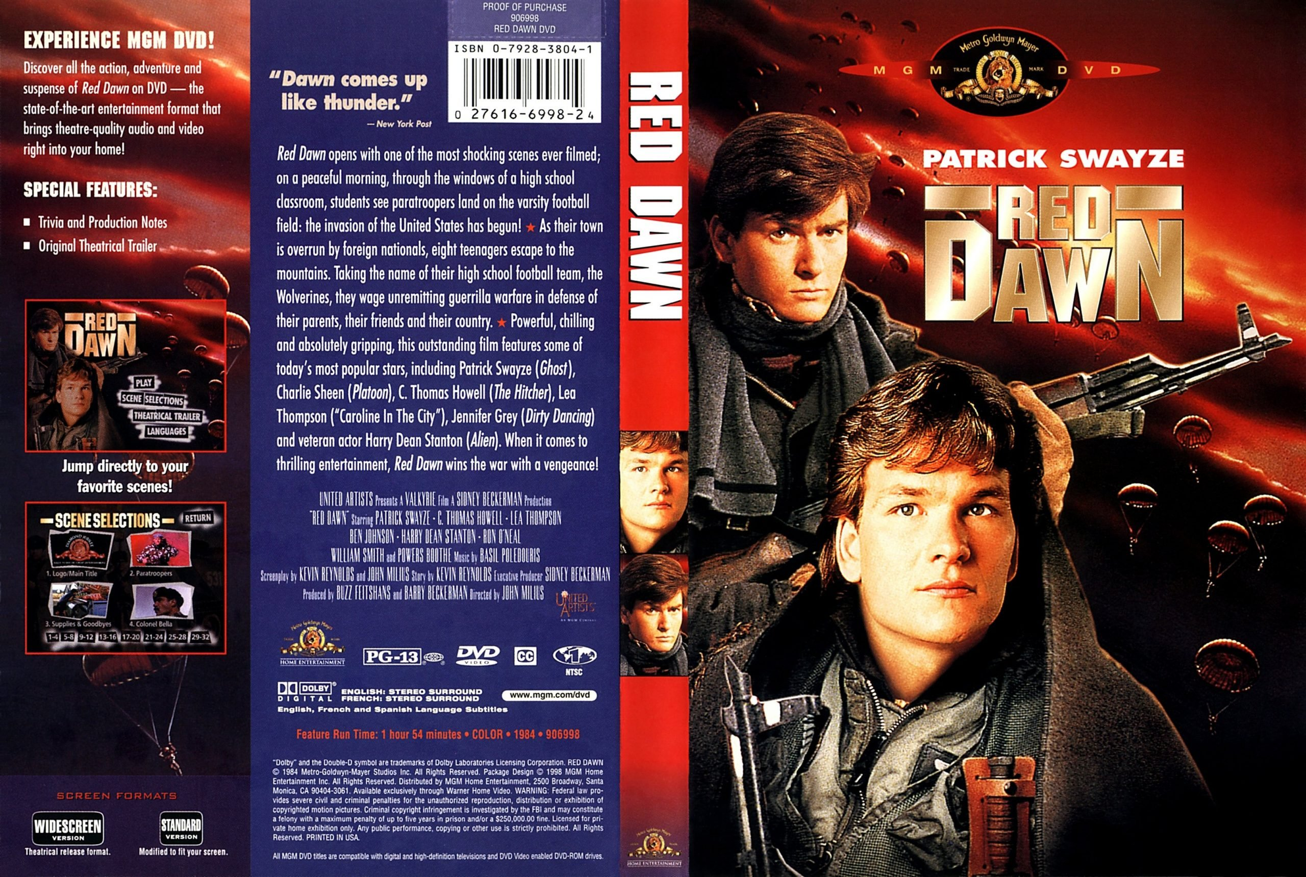 g10 scaled 20 Things You Probably Didn't Know About Red Dawn