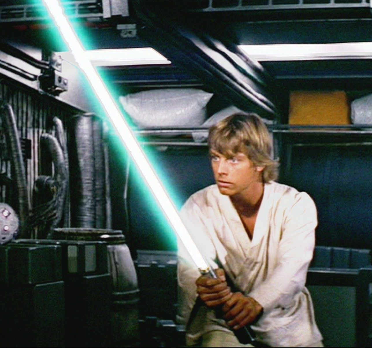 new hope luke lightsaber e1601459187877 20 Little-Known Facts About The Legendary Mark Hamill