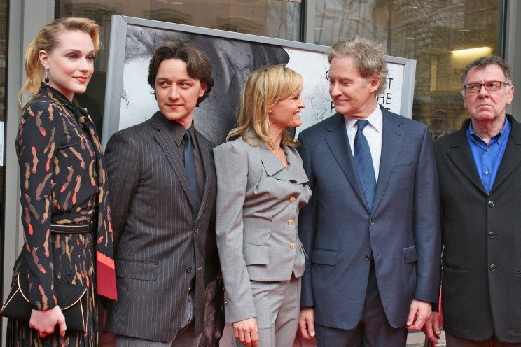 Evan Rachel Wood James McAvoy Robin Wright Kevin Kline Tom Wilkinson 20 Things You Never Knew About Kevin Kline