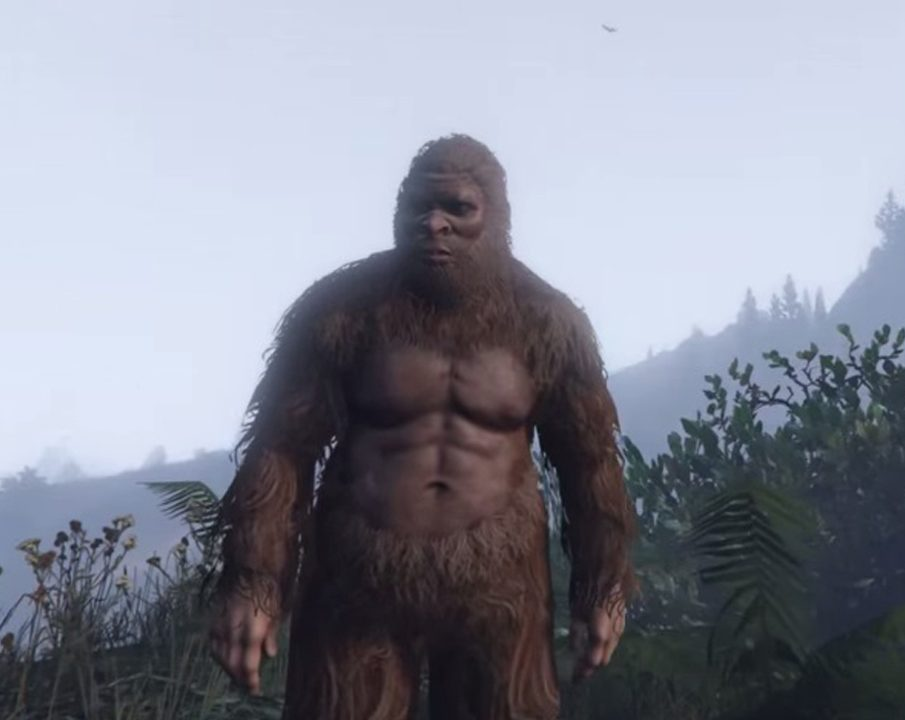 GTA5 Animals Bigfoot PeyotePlant 4283 1080 e1603901607305 Video Game Urban Legends That'll Give You Nightmares