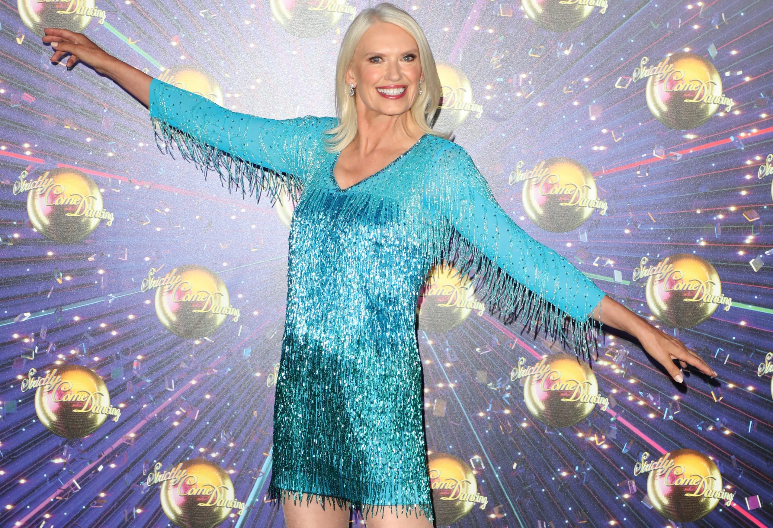 GettyImages 1170379356 scaled Remember Anneka Rice? You Won't Believe How Amazing She Looks At 62!