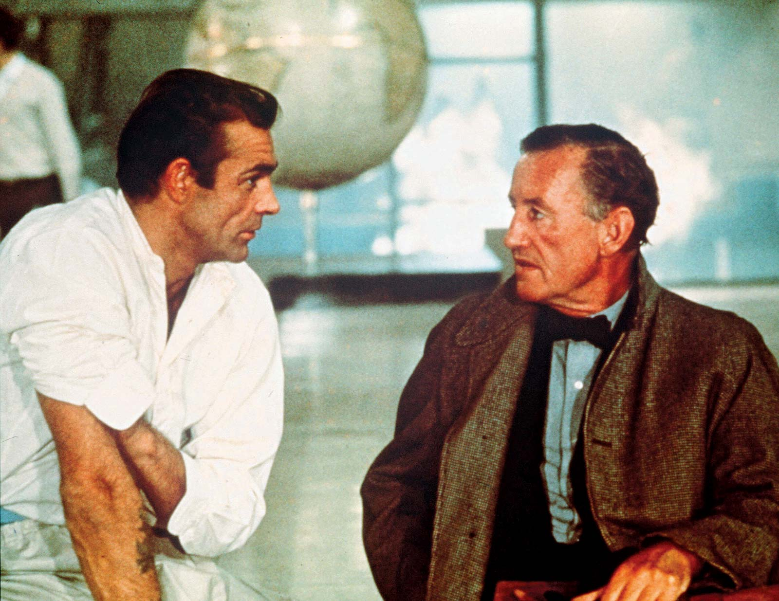 Ian Fleming set Sean Connery Dr No 20 Things You Never Knew About Sean Connery