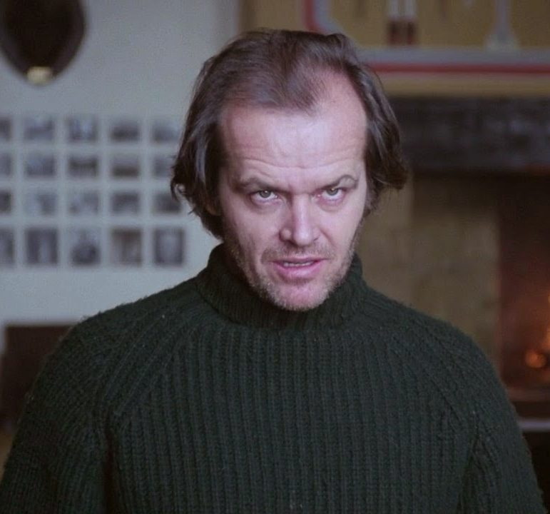 Jack Nicholson Social Distancing in The Shining e1604052437247 20 Things You Never Knew About Christopher Lloyd
