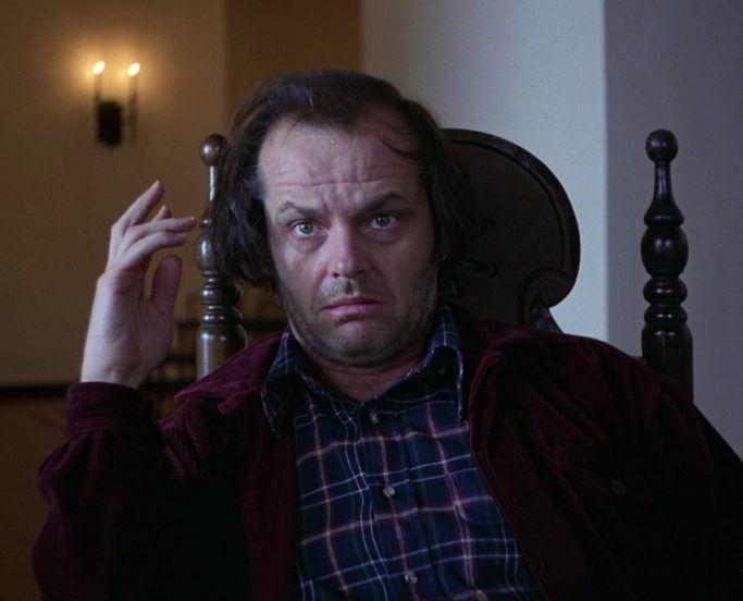 Jack Nicholson Writing in The Shining 2 e1617020452142 20 Things You Never Knew About Christopher Lloyd