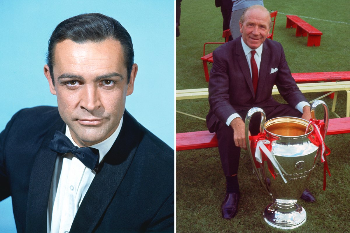 SPORT PREVIEW Sean Connery and Matt Busby 20 Things You Never Knew About Sean Connery