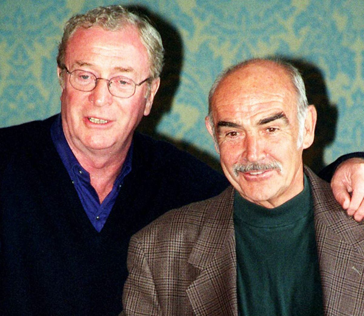 Sean Connery Michael Caine e1604328774412 20 Things You Never Knew About Sean Connery