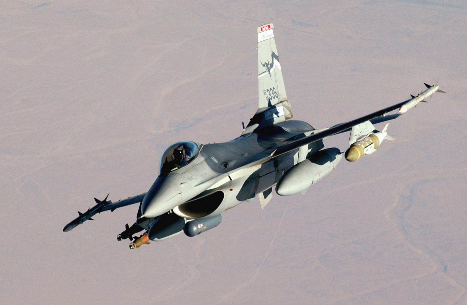a us air force usaf f 16 fighting falcon fighter aircraft is in flight during 5d5f8d 1600 20 Things You Probably Didn't Know About The Original Battlestar Galactica