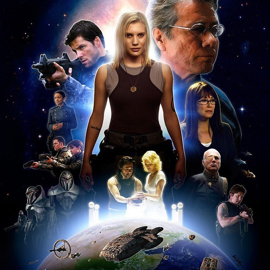 battlestar galactica 2003 wallpaper 8 e1602862343650 20 Things You Probably Didn't Know About The Original Battlestar Galactica