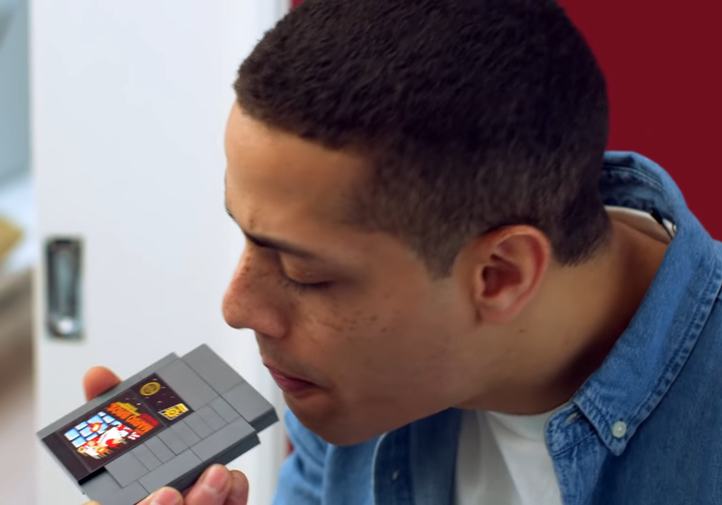 blowing into LEGO NES Super Mario Bros cartridge e1603967162678 30 Video Game Urban Legends: Are They True Or False?