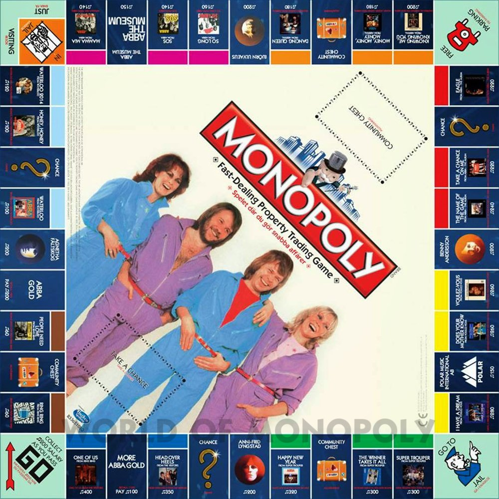 monopoly 40 Things You Probably Didn't Know About ABBA