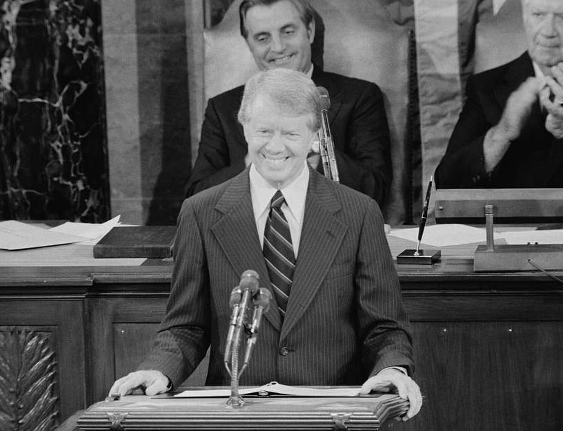 president jimmy carter addresses a joint session of congress announcing the 7f74b0 1024 e1616668216573 20 Things You Probably Didn't Know About The Original Battlestar Galactica