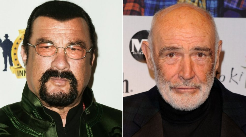 steven seagal wont take full responsibility for breaking sean connerys wrist 1604191559 20 Things You Never Knew About Sean Connery