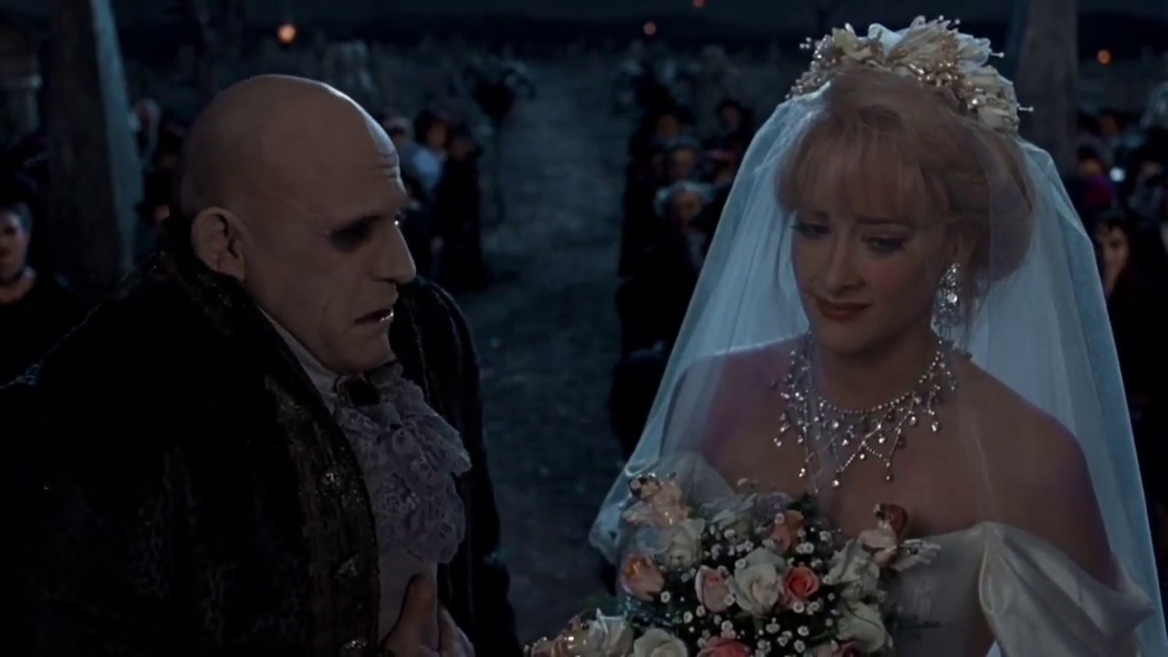 wedding 30 Creepy and Kooky Facts About Addams Family Values