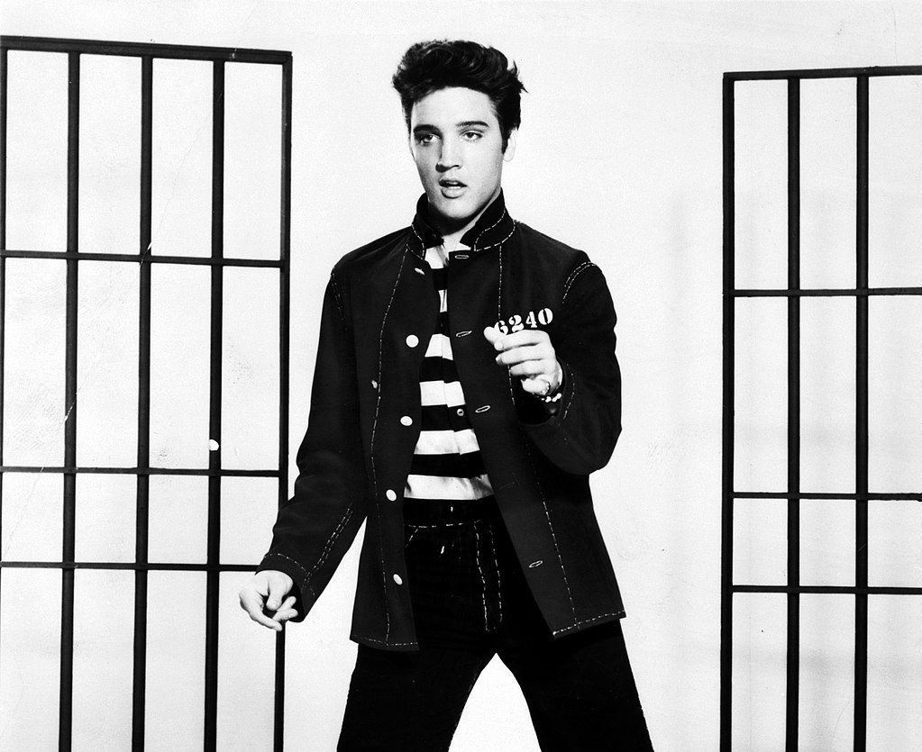 1024px Elvis Presley promoting Jailhouse Rock e1615984003821 20 Things You Might Not Have Realised About Christopher Walken