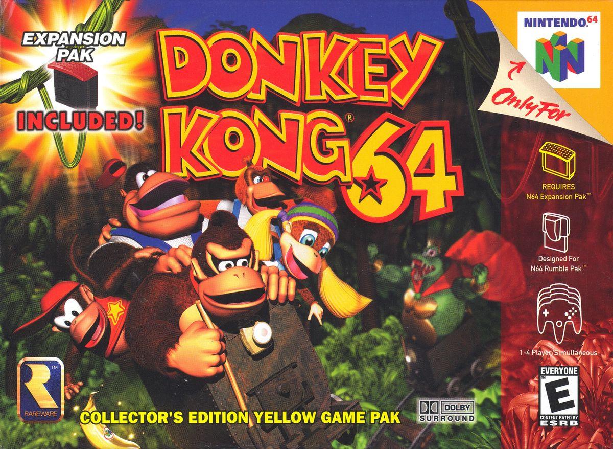 1200px N64 donkeykong64 20 Hidden Levels in Video Games