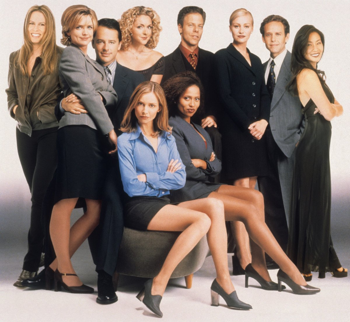 1998 ally mcbeal 21 90s TV Actresses We All Had A Crush On When We Were Younger