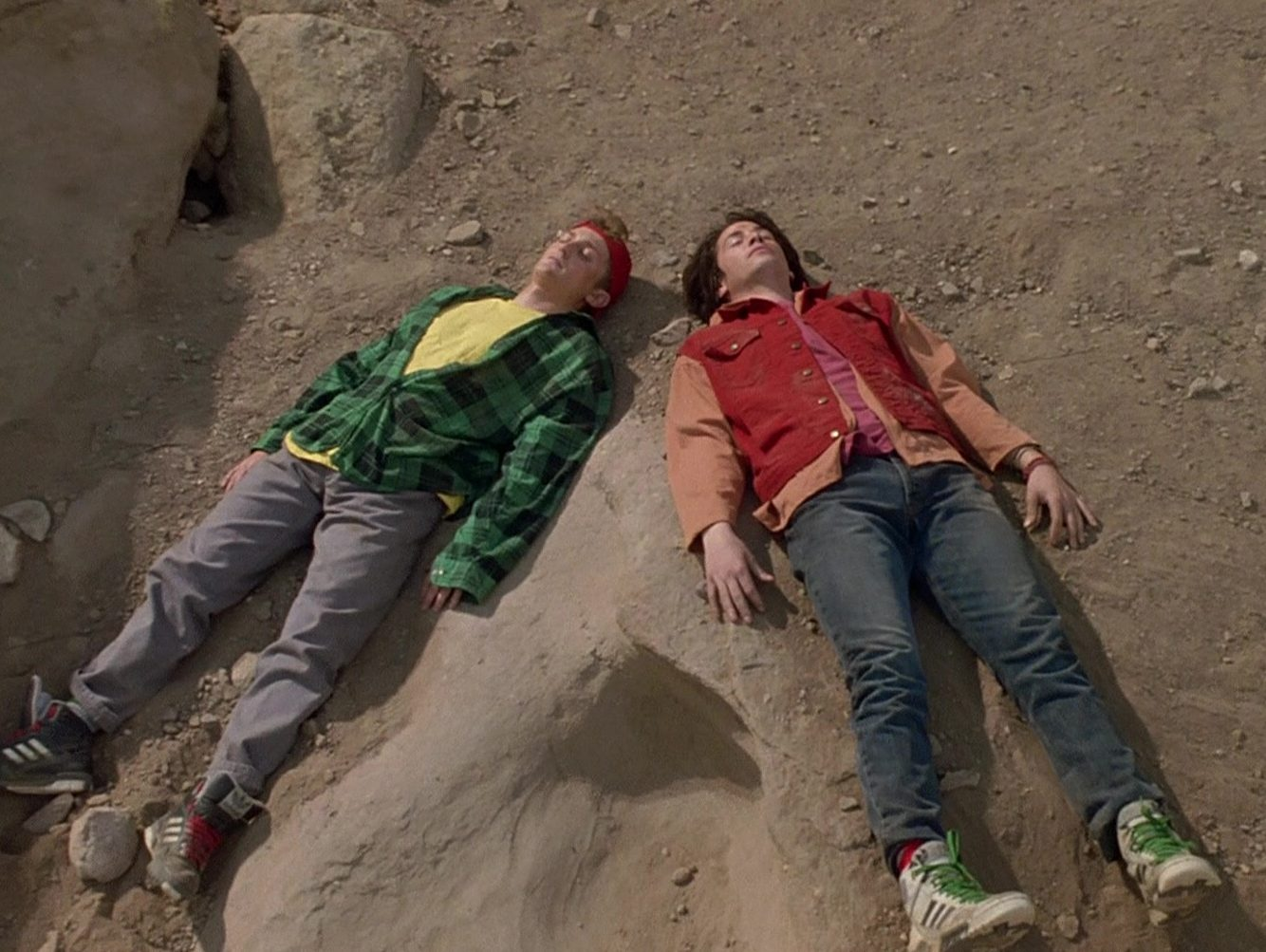 Adidas Sneakers Worn by Keanu Reeves Alex Winter in Bill Teds Bogus Journey 6 e1616682265304 30 Most Triumphant Truths About Bill & Ted's Bogus Journey