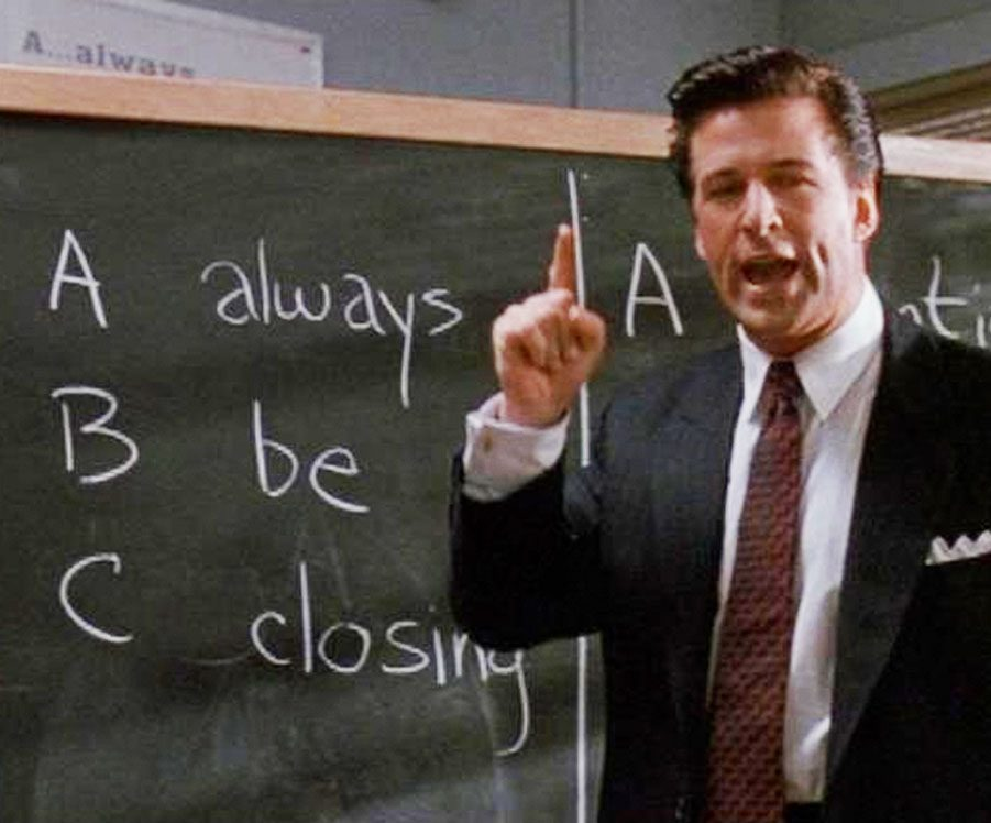 Alec Baldwin in Glengarry Glen Ross e1607085393182 20 Things You Never Knew About Ed Harris